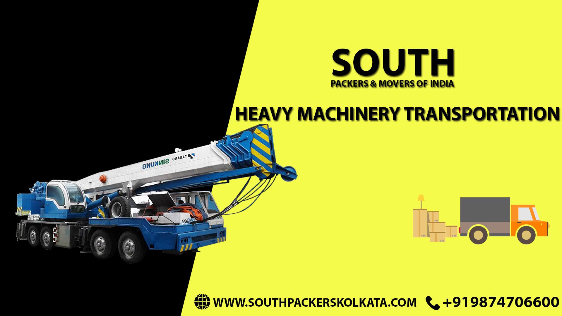 Heavy Machine Transportation in Kolkata